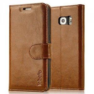 Labato Etui Futerał Wallet Case Samsung Galaxy S6 EDGE+ SM-G928 (brązowy)