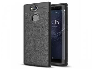 TECH-PROTECT TPU LEATHER SONY XPERIA XA2 BLACK