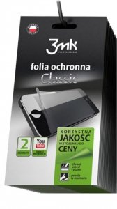 3MK CLASSIC FOLIA HTC ONE E8 - 2szt