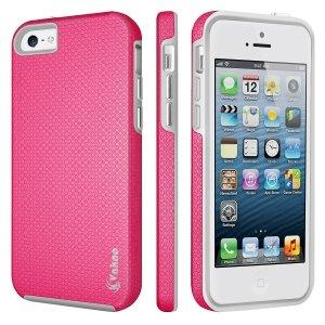 VAKOO Etui Case Heavy Duty Drop Protection - iPhone 6/6S (4.7) (Pink)
