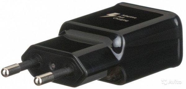 SAMSUNG - ORYGINALNA ŁADOWARKA SIECIOWA 2A FAST CHARGE EP-TA200EBE z kablem USB-C EP-DG970CWE 1m - Galaxy S10 S10E S10 Lite S10+ S20 , A12 , A20E A20s A21 A02s A50 A41 A42 A51 A52 A70 M21 M31 Xcover 5 , S20 FE (czarna)