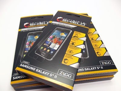 ZAGG INVISIBLE SHIELD FOLIA OCHRONNA NA FRONT do SAMSUNG GALAXY S2 i9100 i9105