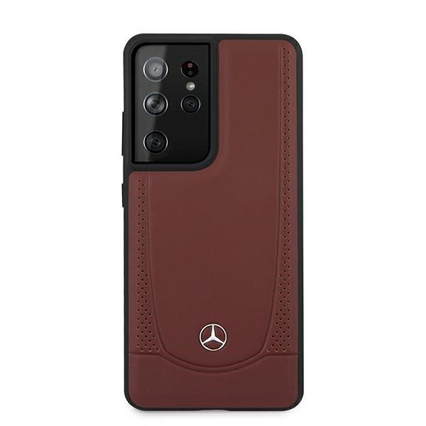Etui Mercedes MEHCS21LARMRE S21 Ultra G998 czerwony/red hardcase Urban Line
