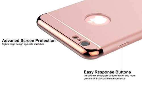 Ultra Thin Slim Hard Case Etui iPhone 6+ /6S+ (5.5) (rose gold)