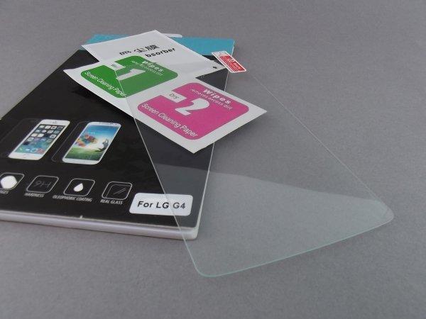 SZKŁO HARTOWANE - SZYBKA 9H 0,3mm LG G4