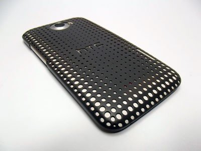 HTC HARD SHELL - ETUI BACK COVER DO HTC ONE X- HC C704 (szary)