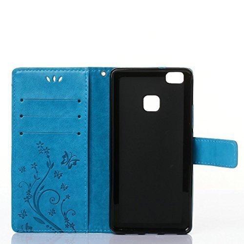 Buterfly Etui Futerał Wallet Case Huawei P9 Lite
