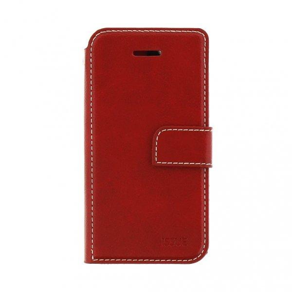 MOLAN CANO STYLOWE ETUI BOOK CASE - XIAOMI REDMI NOTE 5A (czerwony)
