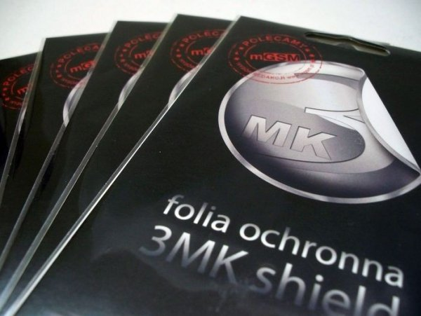 3MK SHIELD SUPERMOCNA FOLIA OCHRONNA DO BLACKBERRY CURVE 9320 (2 szt.)