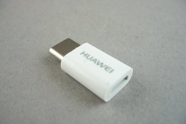 NOWY ORYGINALNY ADAPTER HUAWEI AP52 micro usb - typ c  ( USB-C)