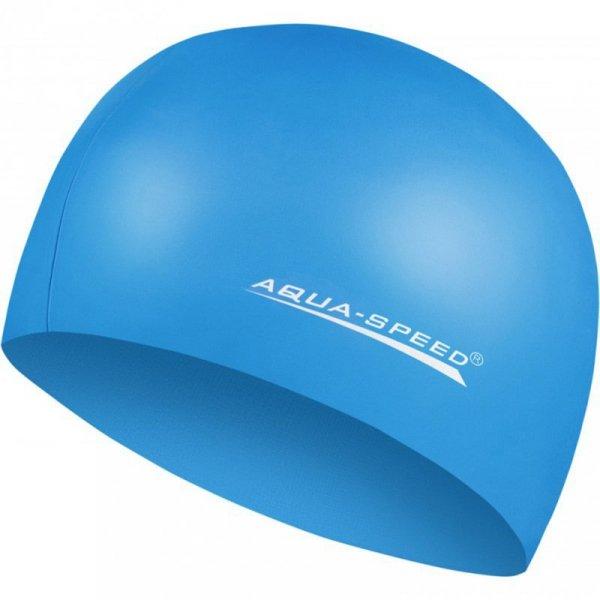 Czepek Aqua-speed Mega niebieski 23 100