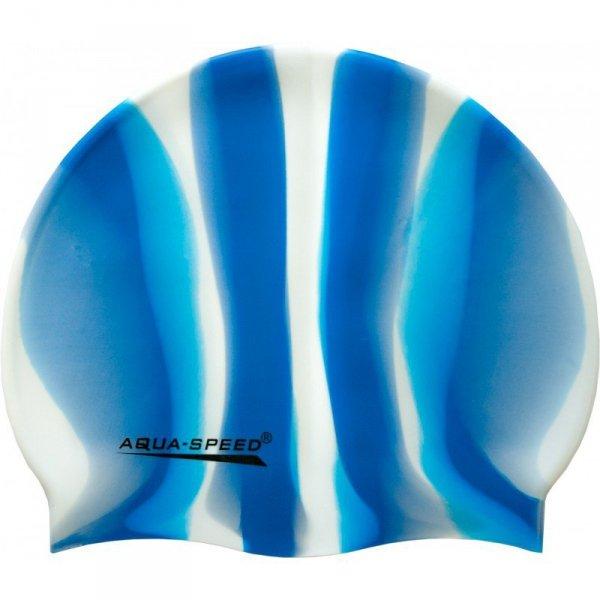 Czepek Aqua-speed Bunt tęczowy kol 55