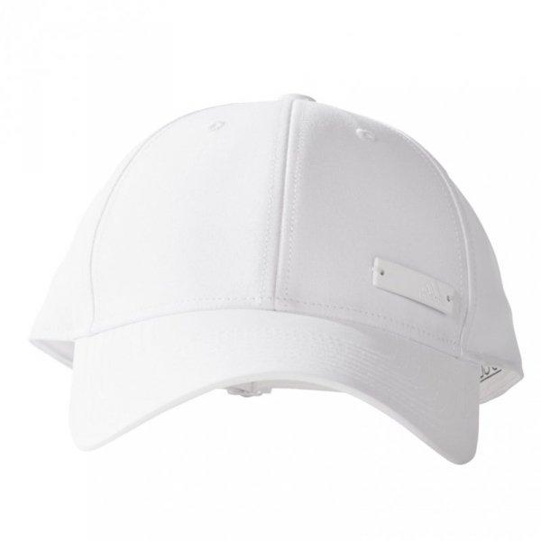 Czapka z daszkiem męska adidas 6P Cap LTWGT Met OSFL biała BK0789