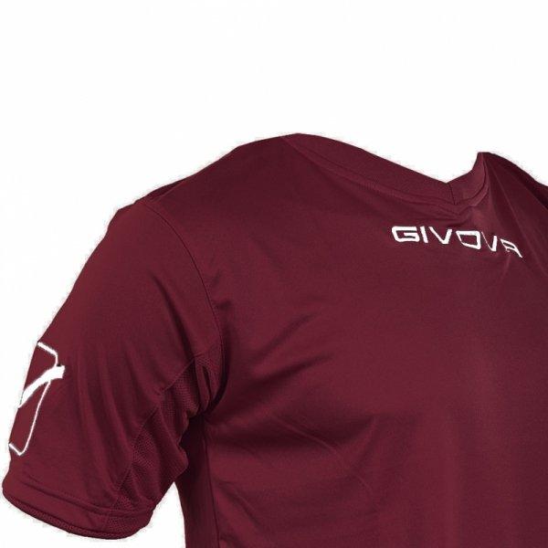 Komplet Givova Kit Givova bordowy KITC48 0008