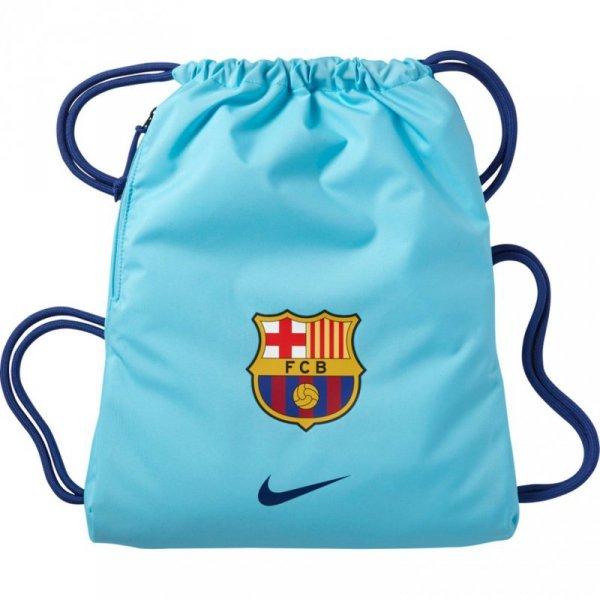 Worek na buty Nike Stadium FCB Gymsack błękitny BA5413 483