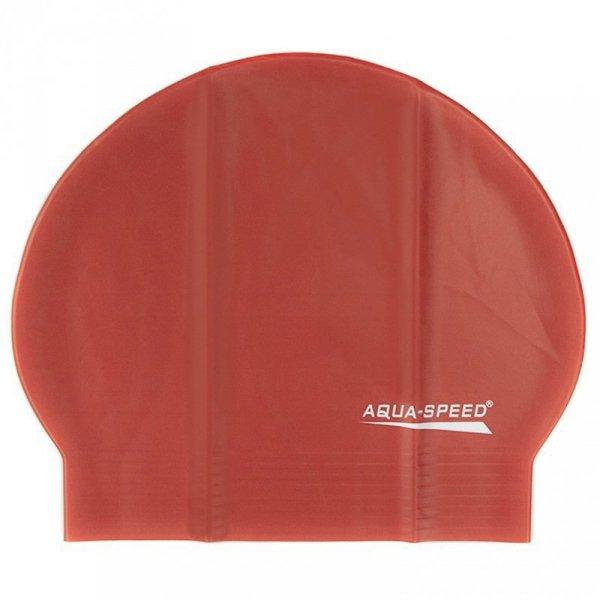 Czepek Aqua-Speed Soft Latex czerwony 31