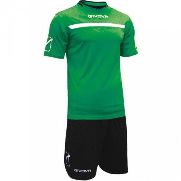 Komplet Givova Kit One zielono-czarny KITC58 1310