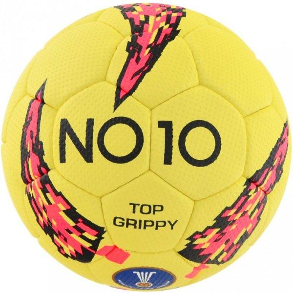 Piłka ręczna NO10 Top Grippy II żółta 56047-2