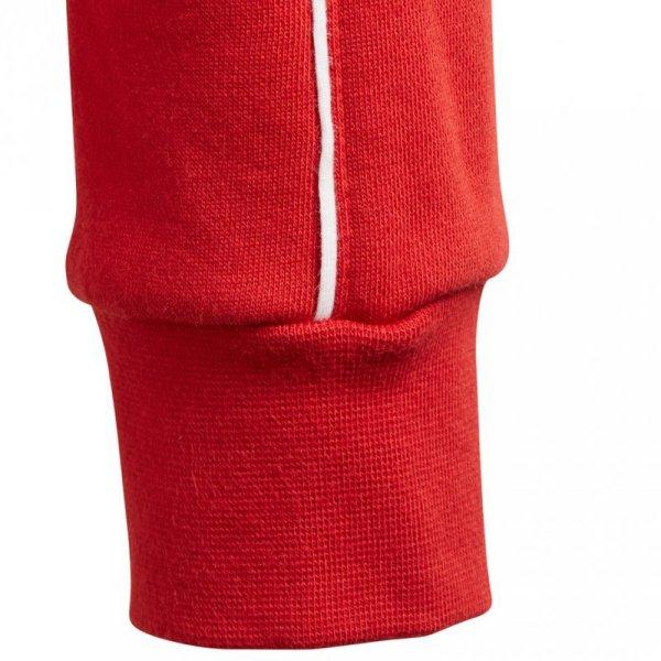 Bluza dla dzieci adidas Core 18 Hoody JUNIOR czerwona CV3431