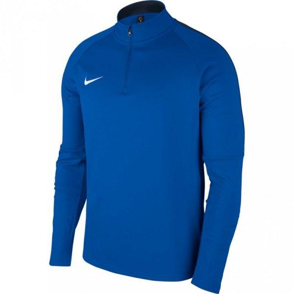 Bluza męska Nike Dry Academy 18 Drill Top LS niebieska 893624 463