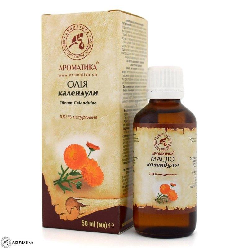 Olej z Nagietka, 100% Naturalny, Aromatika, 50ml