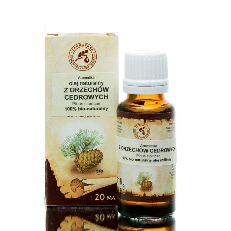 Olej z Orzechów Cedrowych, Aromatika, 20ml