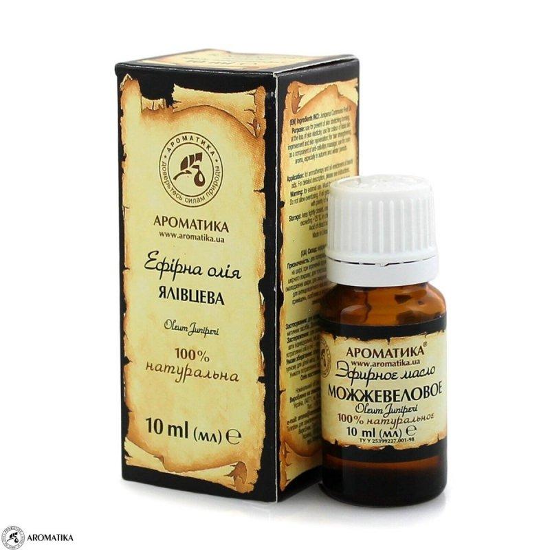 Olejek Jałowcowy, Aromatika, 100% Naturalny, 10ml