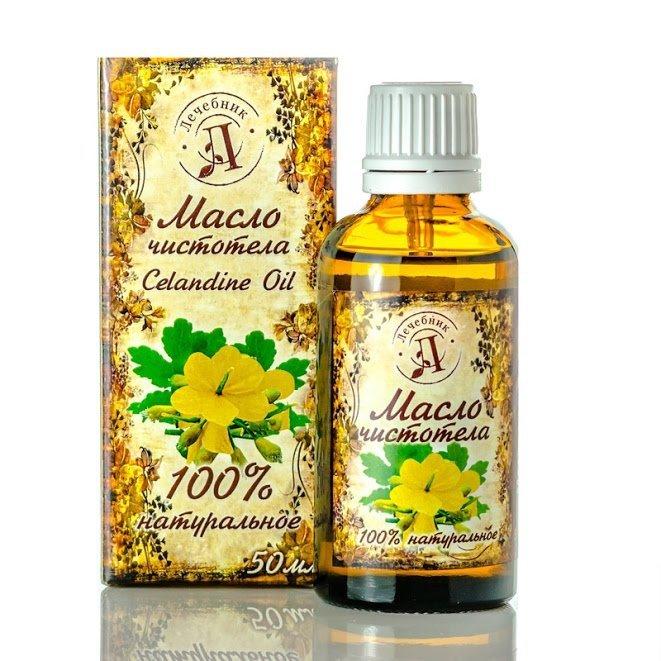 Olej z Glistnika Jaskółcze Ziele 50 ml, 100% Naturalny