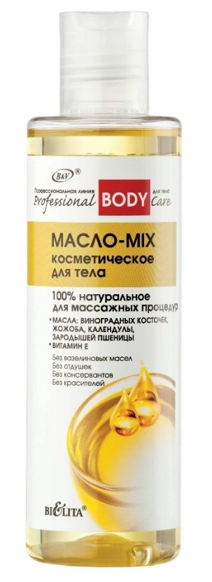 Olejek MIX do Masażu Ciała, 100% Naturalny, Belita, 195ml