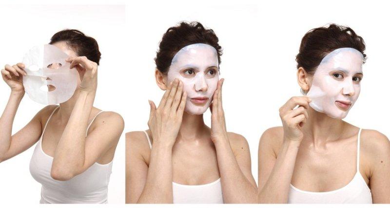 Maska do Twarzy Bio-Celulozowa Kolagenowa Odżywczo-Tonizująca Lawenda i Geranium, Aromatika