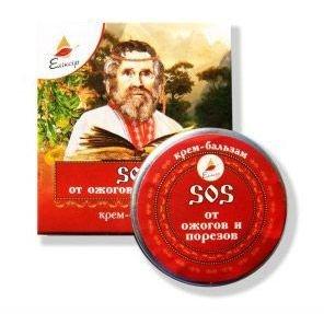 Krem Balsam na Oparzenia i Skaleczenia, 10 ml