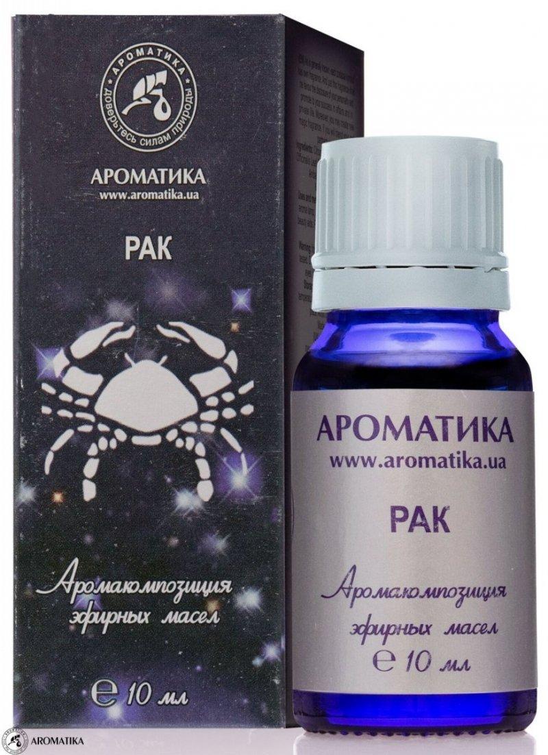 Rak Kompozycja Olejków Aromaterapeutyczna dla Znaku Zodiaku, 100% Naturalna