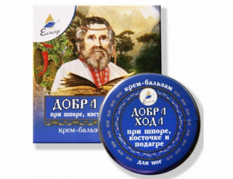 Krem Balsam na Ostrogę Piętową, Haluksy i Dnę Moczanową, 10 ml