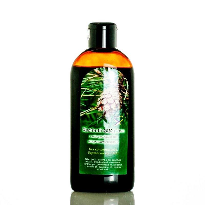 Płyn do Kąpieli z Wyciągiem z Drzew Iglastych i Biszofitem, 200 ml
