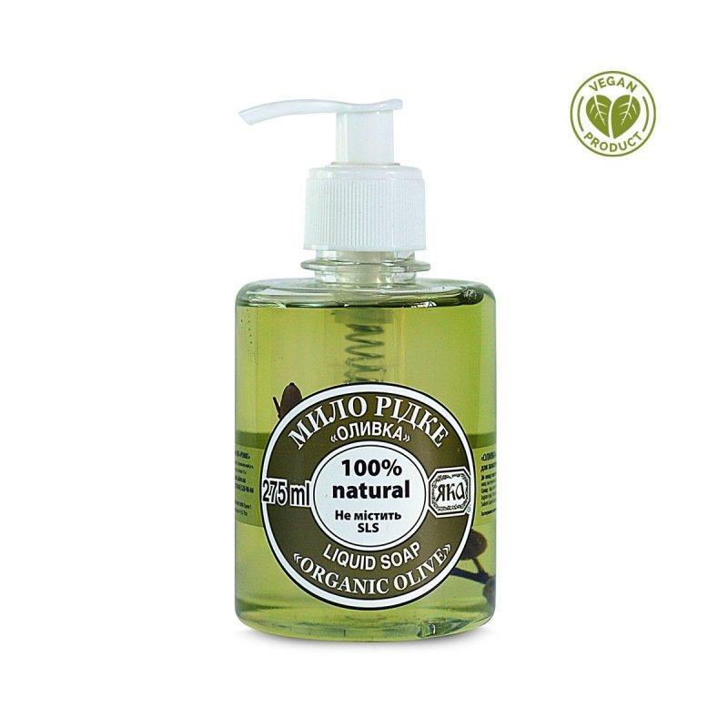 Mydło w Płynie Oliwkowe, 100% Naturalne, Yaka