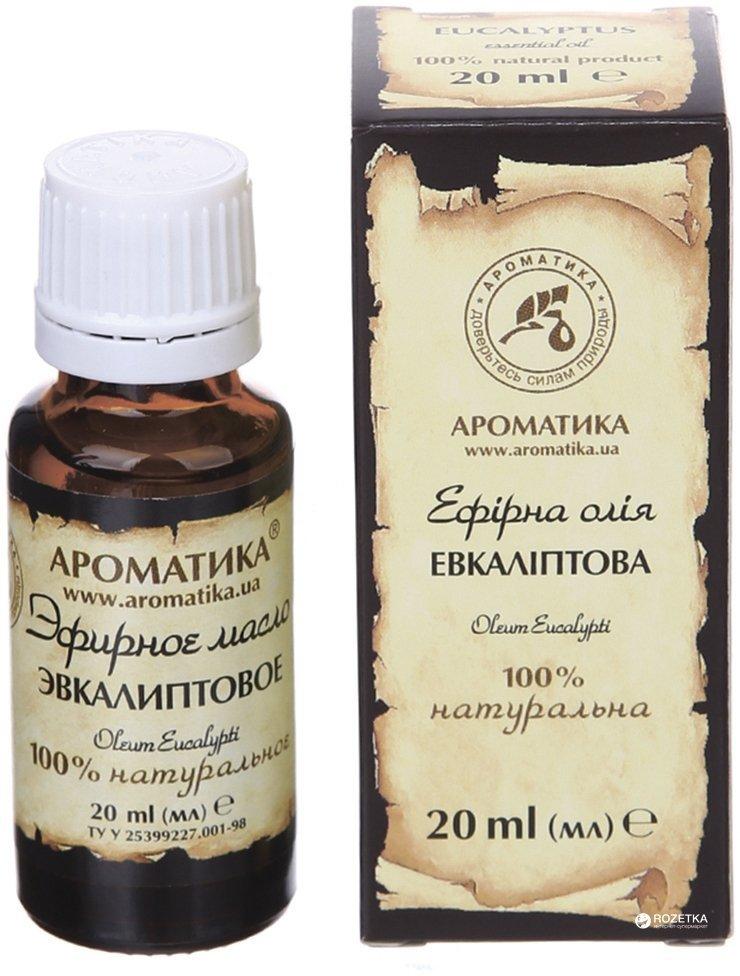 Olejek Eukaliptusowy, 100% Naturalny, Aromatika, 20ml