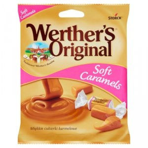 Werther's Original Soft Caramels Miękkie cukierki karmelowe 75 g