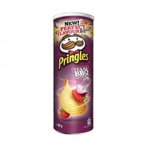 Pringles Chipsy TEXAS BBQ 165g