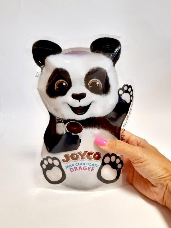 Drażetki z mlecznej czekolady Joyco 150g Panda NOWOŚĆ