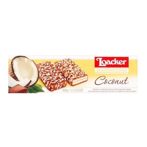 Gran Pasticceria - wafle z kremem kokosowym 100 g