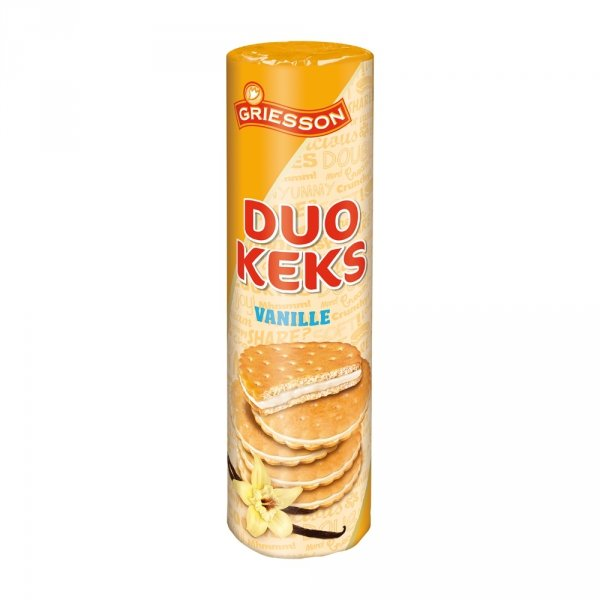 Ciastka Griesson Duo Keks Vanilla 500g