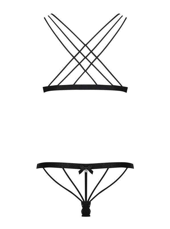 Bielizna-854-SET-1 komplet 2-częściowy  S/M