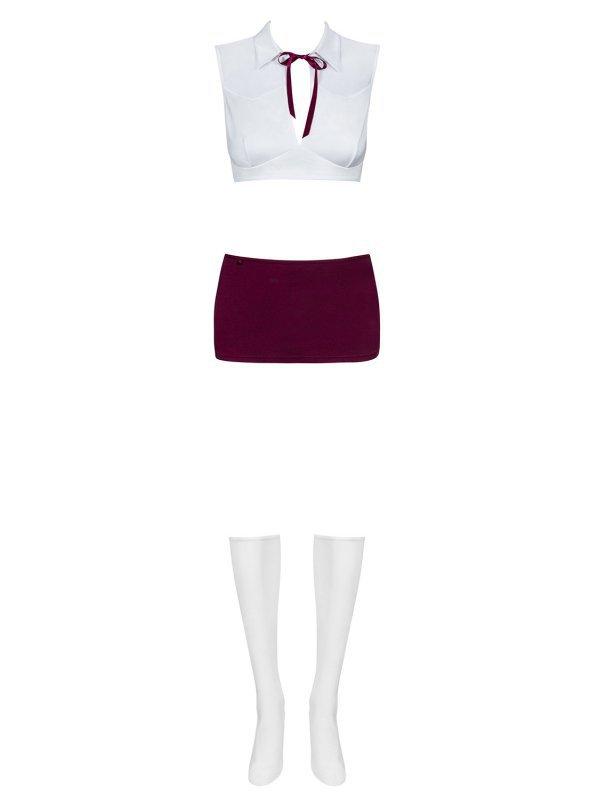 Bielizna-Student kostium 4-częściowy L/XL