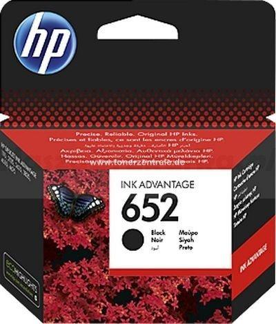 Tusz oryginalny HP 652 black