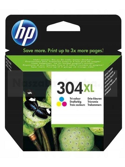 Tusz oryginalny HP 304XL kolor