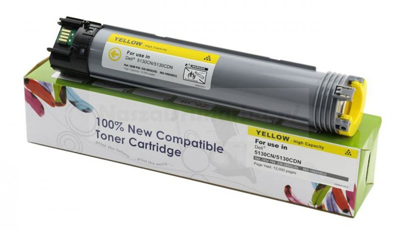 Toner Cartridge Web Yellow Dell 5130 zamiennik 593-10924