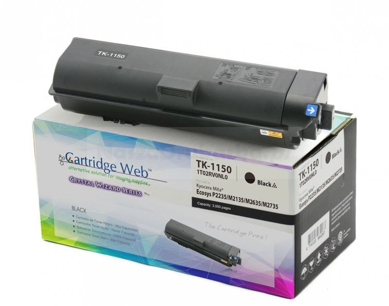 Toner Cartridge Web Czarny Kyocera TK1150 zamiennik TK-1150