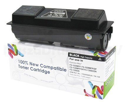 Toner Cartridge Web Czarny Kyocera TK130 zamiennik TK-130