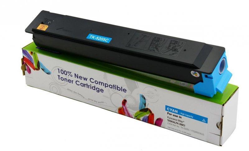 Toner Cartridge Web Cyan Kyocera TK5205 zamiennik TK-5205C