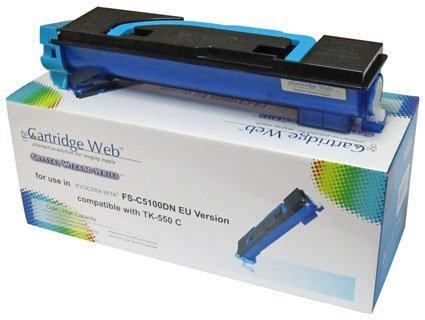 Toner Cartridge Web Cyan Kyocera TK550/TK552 zamiennik TK-550C